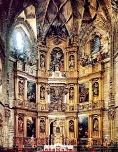 1.- Retablo de la Catedral Nueva de Plasencia
