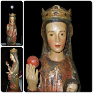 10.- Virgen de Tejeda de Tiétar