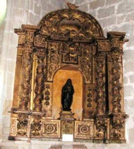 13.- Retablo actual de la Inmaculada