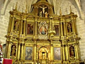 13.- Retablo de la iglesia de Nuestra Señora de la Asunción de Montehermoso