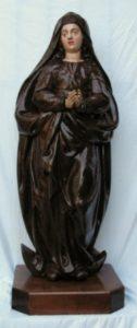 14.- Imagen actual de la Inmaculada