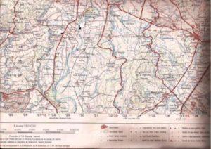 15.- Plano Alagón y lugares de aparición