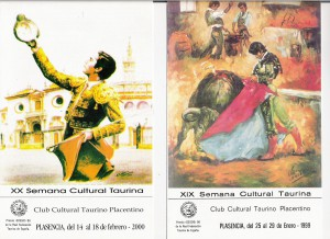 18b Semana Taurina XIX-XX-1999-2000