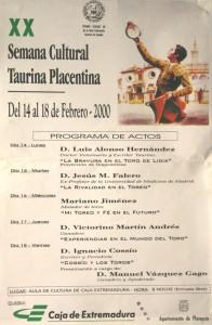 21 XX Semana Cultural Placentina-2000