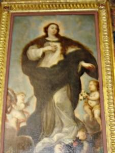 21.- Óleo de la Inmaculada