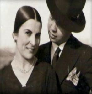 3 Herminio Torres con su esposa, Vicenta Navarro