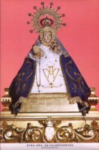 5.-Virgen de Valdefuentes antes de ser restaurada
