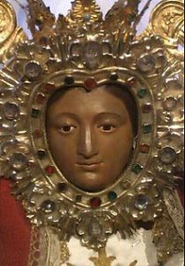 7.- Rostro de la Virgen de Argeme