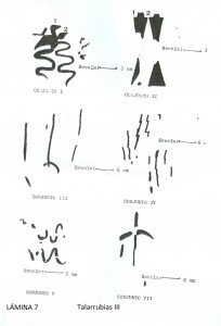 Figura 7 Talarrubia III Conjuntos I al VII