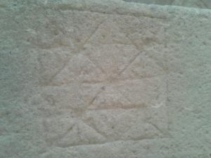 Figura n.º13. Alquerque del Palacio Lorenzana