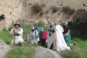Imagen 2. Los cristianos se ponen bajo la protección de la Virgen. Fotografia cortesia de Asunción Ruiz Moreno
