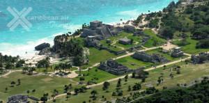 Lám 2. Vista de ciudad maya Tulun