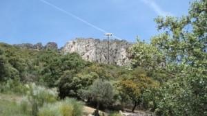 Lámina 1 Cueva del Lentiscar Vista general de la sierra