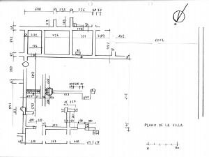 Lam. 3. Plano de la Villa