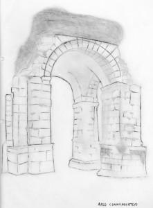 Lam. 4. Arco conmemorativo