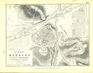 Lamina VI Sitio francés de Badajoz