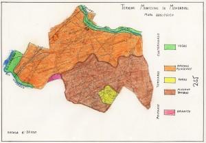 Mapa Geológico de Mengabril