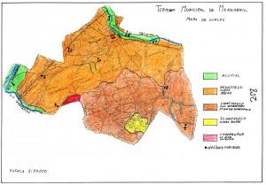 Mapa de Suelos de Mengabril