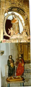 Ntra. Sra. de Fuentes Claras y San Pedro y San Pablo. Valverde de la Vera