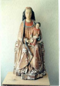 Virgen con Niño, Garguera