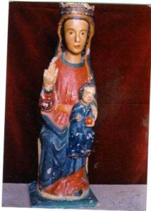 Virgen con Niño, Tejeda de Tiétar
